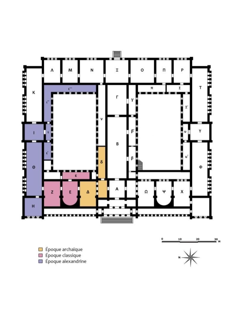 E:\Laure\Mes documents\Thèse - Musée national\Thèse Images\Plans musée\1891-Sculptures-par-époque.jpg