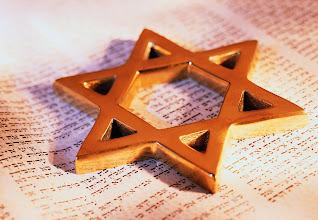 Photo: David's Star on Torah ca. 2001