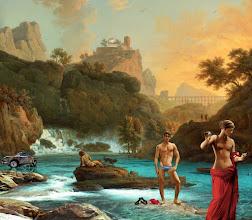 """Photo: D'après Claude-Joseph Vernet, """"Vénus et mars""""."""
