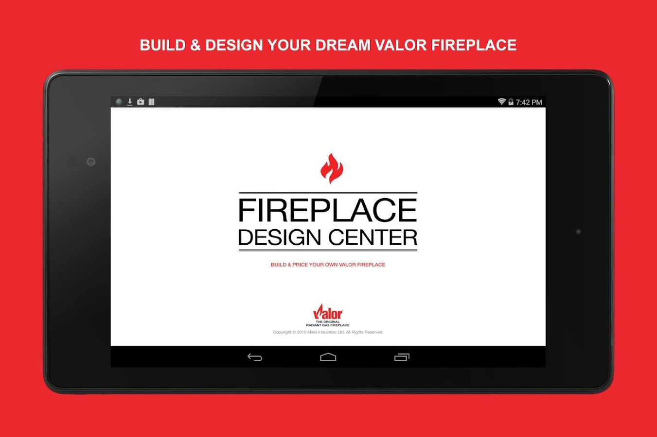 Valor Fireplace Design Center- screenshot