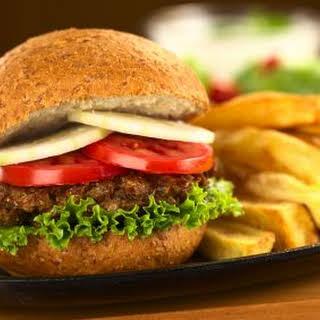 Vegan Lentil Burgers.