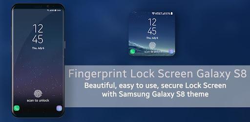 Fingerprint Prank Lockscreen Galaxy S8 - Apps on Google Play