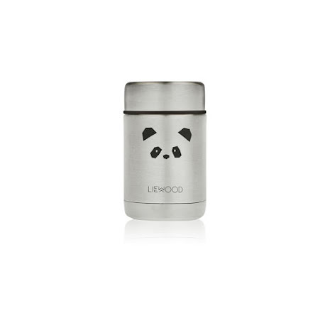 Liewood Food Jar - Panda stainless steel
