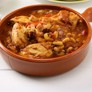 Slow Cooker Chicken & Chorizo