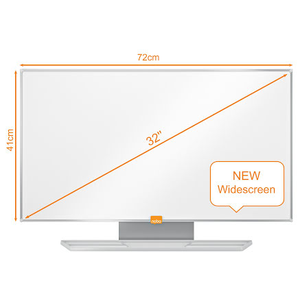 Whiteboard Nobo Widescreen 32""