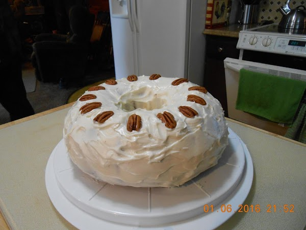 Pumpkin Cake  With Cream Cheese Frosting Recipe