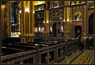 Photo: Шарм эль Шейх. Коптский христианский собор. Внутри.