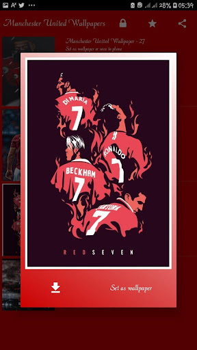 Manchester United HD wallpapers (OFFLINE) screenshot 5