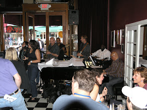 Photo: The Famous Croce's Jazz Bar and Restaurant and my first ever KIFM jazz Festival Downtown.