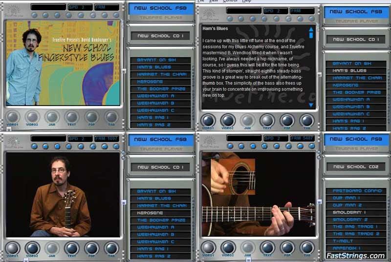 David Hamburger - New School Fingerstyle Blues