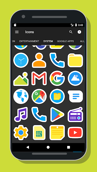 Mangis Icon Pack- screenshot