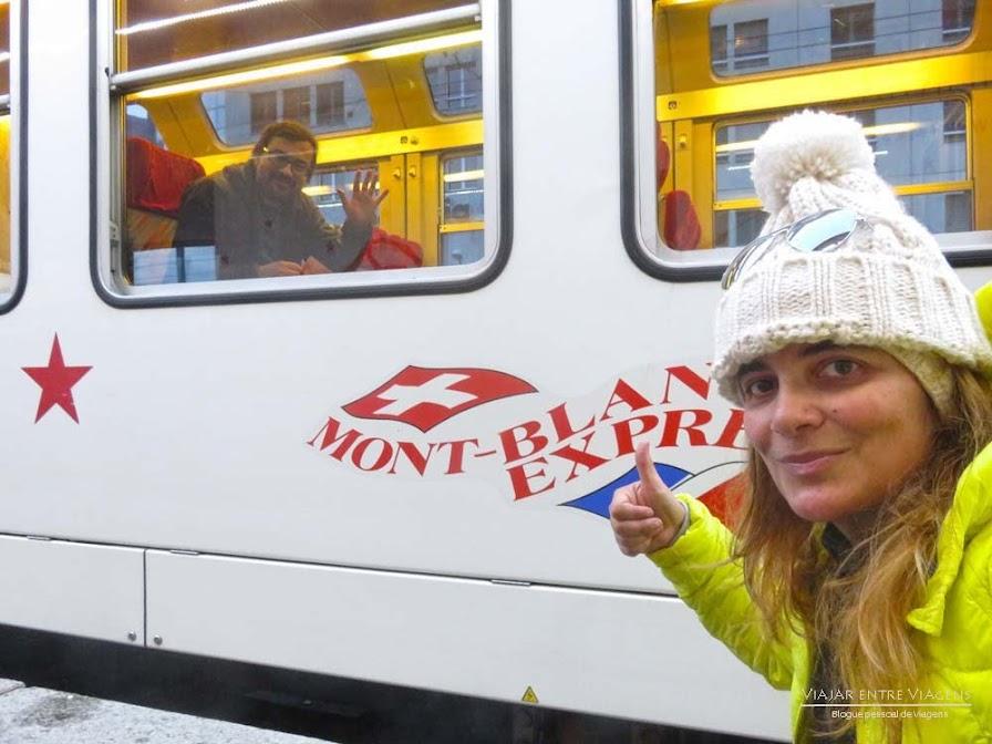 MONTE BRANCO EXPRESS, uma viagem (GRÁTIS) num comboio cénico pelos Alpes (Chamonix) | França