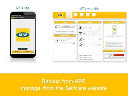 MTN Phonebook Backup - náhled