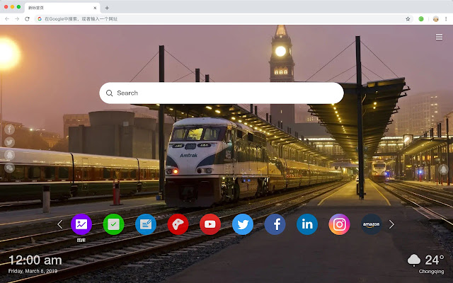 Train Popular HD Wallpapers New Tabs Theme