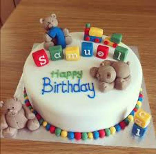誕生日ケーキデザインのアイデア