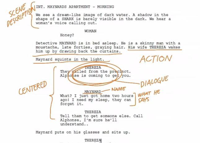 How to write a comic book manuscript