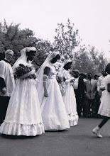Photo: 1950 May Pcession_Ann Harris-May Queen_St Cyprian Parish