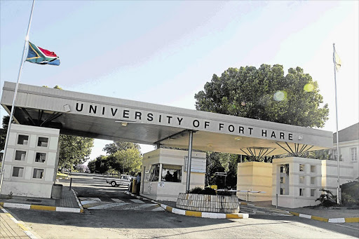 The University of Fort Hare in Alice. Picture: MICHAEL PINYANA/DAILY DISPATCH