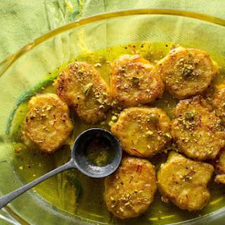 Malpura (Ricotta Pancakes in Cardamom Syrup)