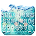 Glass Water Drop Keyboard APK