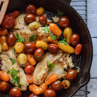 Skillet Tilapia with Tomatoes Recipe