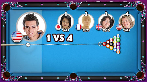 POOL STRIKE Jeu de billard 8 ball pool en ligne  captures d'u00e9cran 2