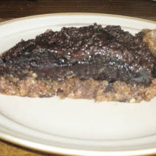 Chocolate Silk Pie with Grain-free Crust (dairy, grain and sugar free).