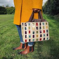 Pink Polka Dot Canvas Tote Bag | Tote Bags