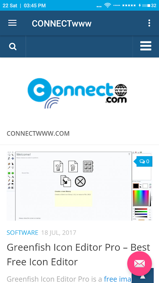 CONNECTwww- screenshot