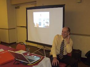 Photo: Career Fair 13:30-16:30 - Tom O'Grady of Distech