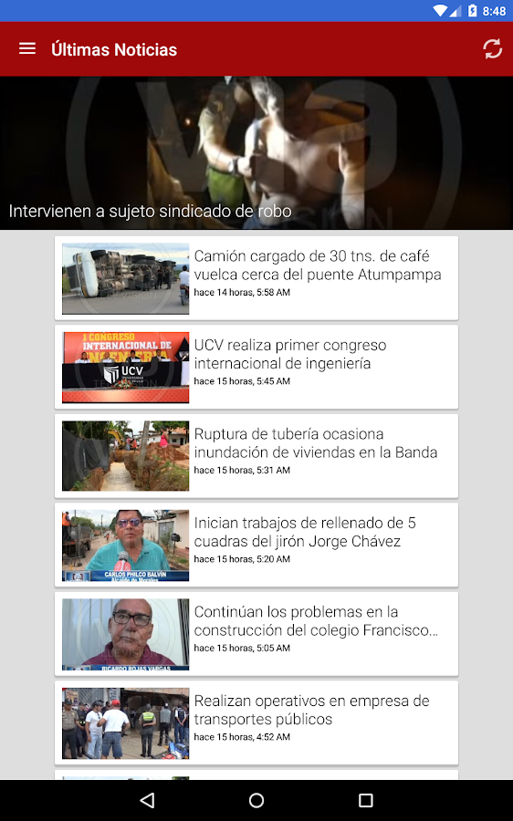 VIA Televisión- screenshot