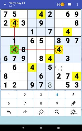 Sudoku Free - Classic Brain Puzzle Game screenshot 19