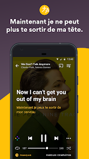 Musixmatch Paroles de chanson – Vignette de la capture d'écran