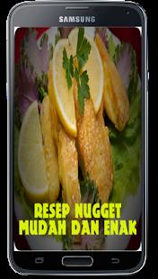 Resep Nugget Mudah dan Enak for PC-Windows 7,8,10 and Mac apk screenshot 2