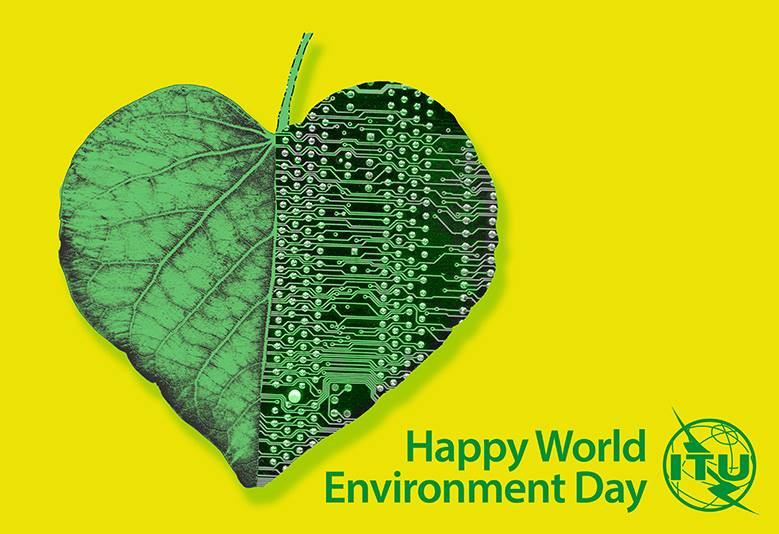 Photo: Today is World Environment Day! Take this opportunity to download our toolkit on Environmental Sustainability for the ICT Sector or read up on many of the other ways ICT can be put to use in the battle against climate change: http://www.itu.int/themes/climate/publications.html