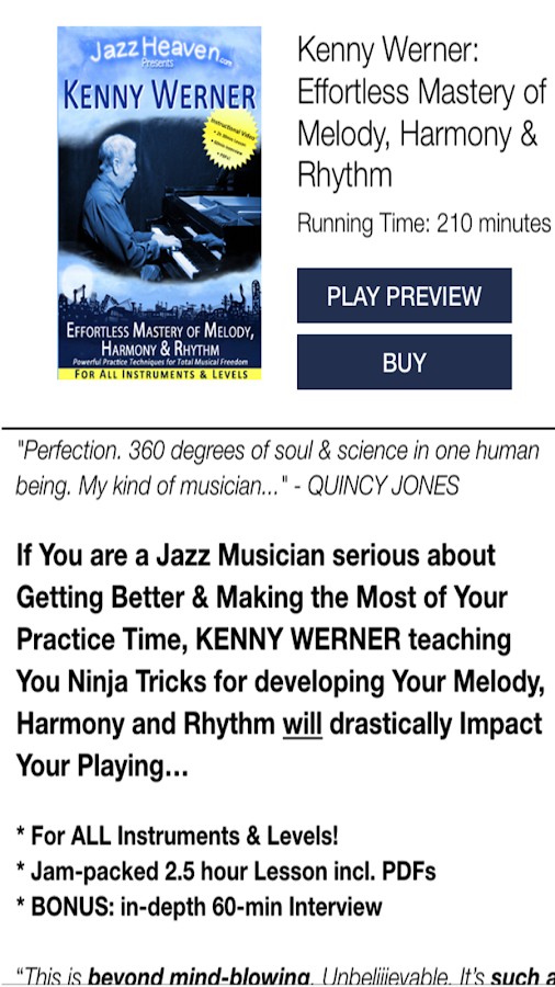 Jazz Improvisation Lessons- screenshot