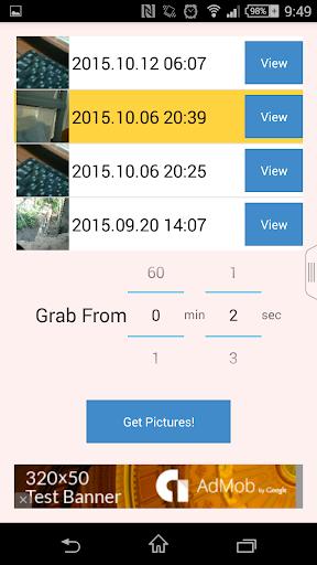 FrameExtractor : video to pics  screenshots 2