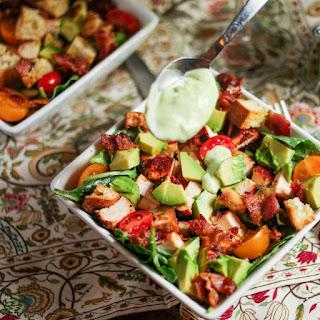 Grilled Chicken Club Salad.