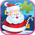 Merry Christmas Jigsaw for kid icon