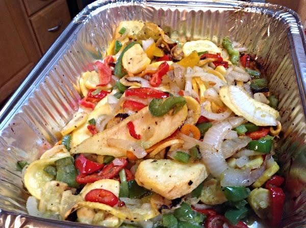 Grilled Fresh Veggies Recipe