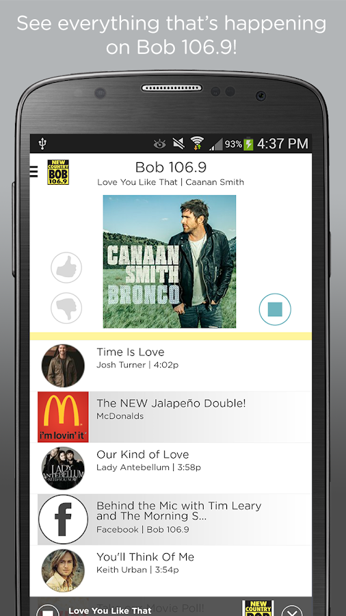 Bob 106.9- screenshot