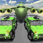 US Army Transport Game - Army Truck & Cargo Plane