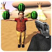 Watermelon Shooter 3D Game: FPS Shooting Challenge