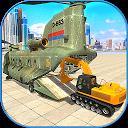 Construction Machines Airplane Transporter Cargo APK