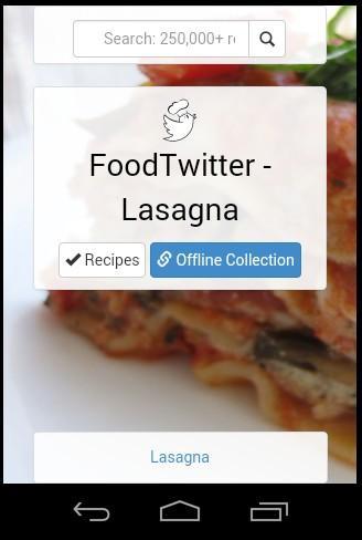 Lasagna Allrecipes