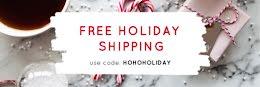 HoHoHoliday Free Shipping - Email Header item