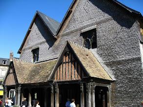 Photo: L'église Sainte-Catherine à Honfleur (2007).
