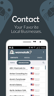 Wannatalk Messenger - náhled