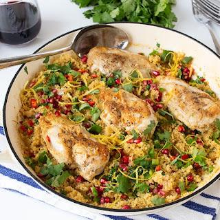 Make This Speedy One-Pot Chicken Couscous Dinner Recipe This Week.