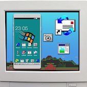 Windroid Theme for windows 95 PC Computer Launcher
